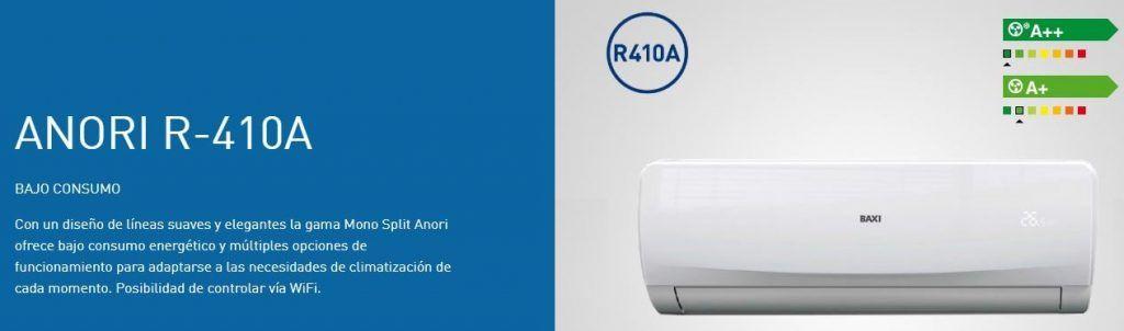 Aire Acondicionado Anori R410A
