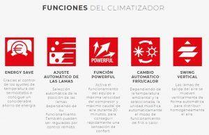 Ficha Tecnica Caracteristicas Aire Acondicionado Fujitsu ASY LLCE