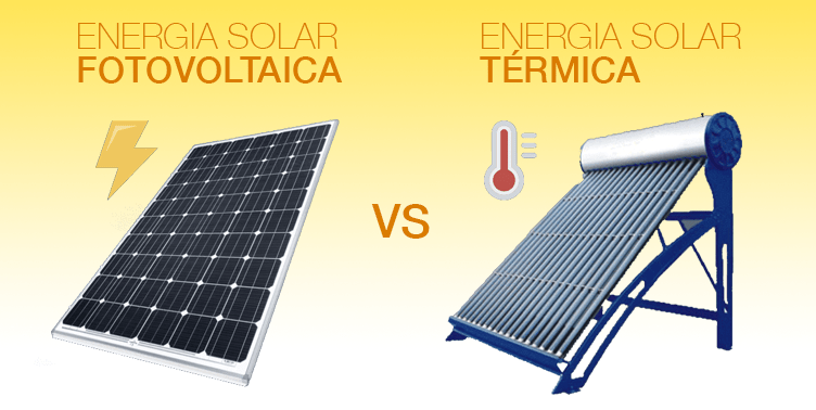 Ventajas de la energia fotovoltaica y termica