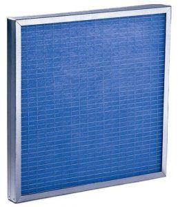 Filtros planos de fibra de vidrio