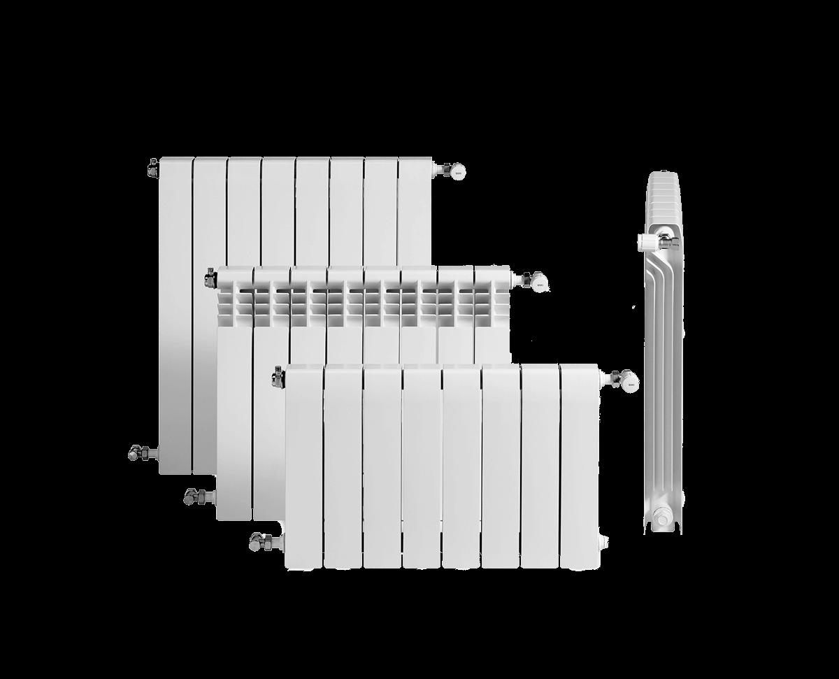 radiador aluminio baxi Duval