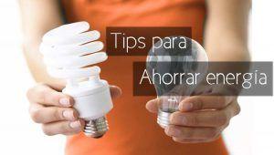 tips para ahorrar energia