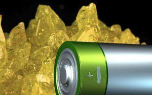 baterías de litio-azufre