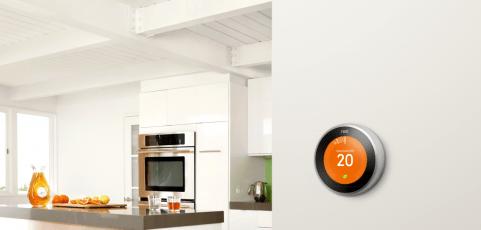 un termostato inteligente