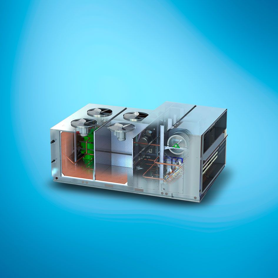 unidad HVAC DX