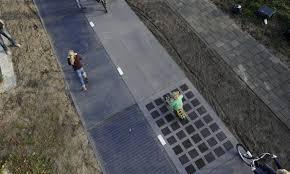 Carril bici solar en Krommenie, Países Bajos