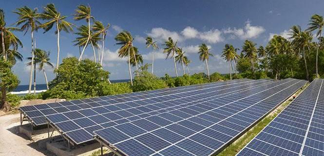 Proyecto de energía renovable en Tokelau