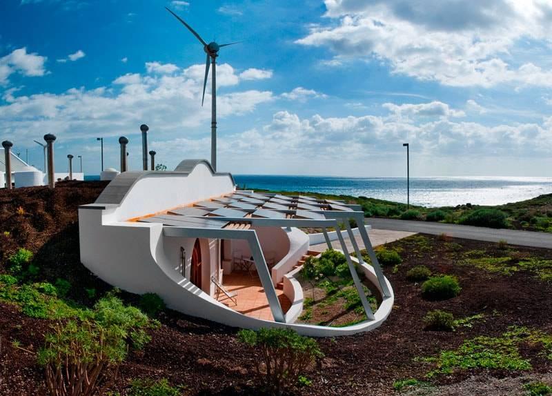 Elige la forma de la casa bioclimatica