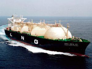 Gas Natural Licuado es transportado por grandes buques