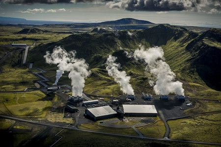 Islandia la primera planta de emisiones negativas