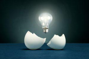 cáscaras de huevo para el almacenamiento de energía