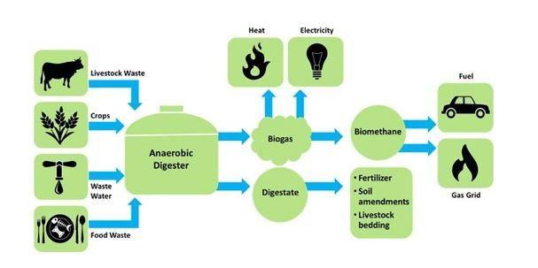esquema del gas renovable