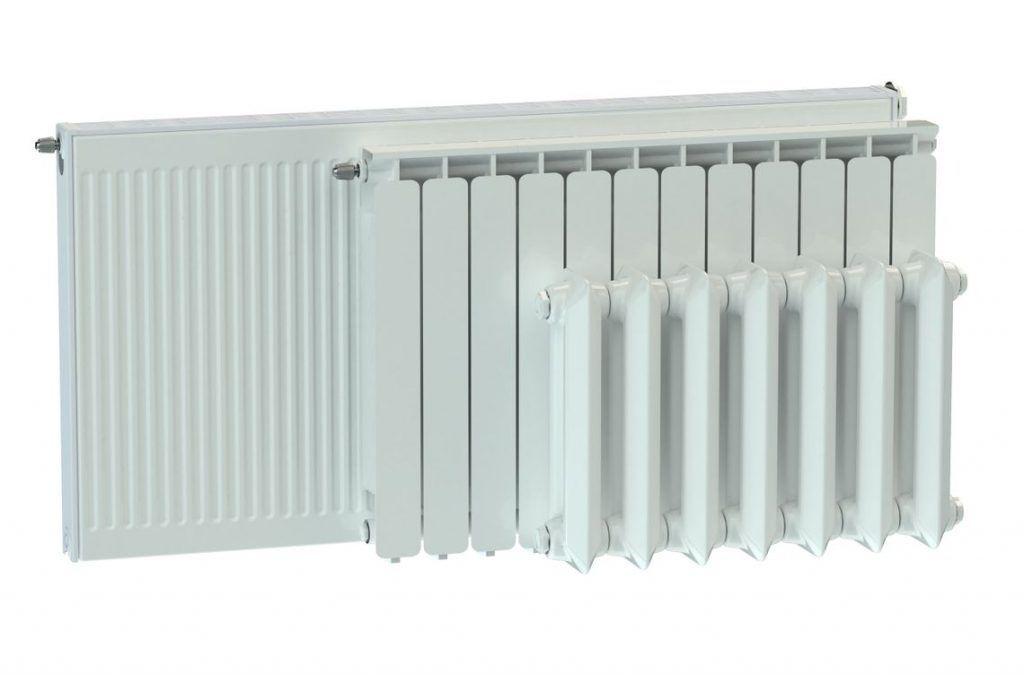 radiadores de vapor y agua caliente