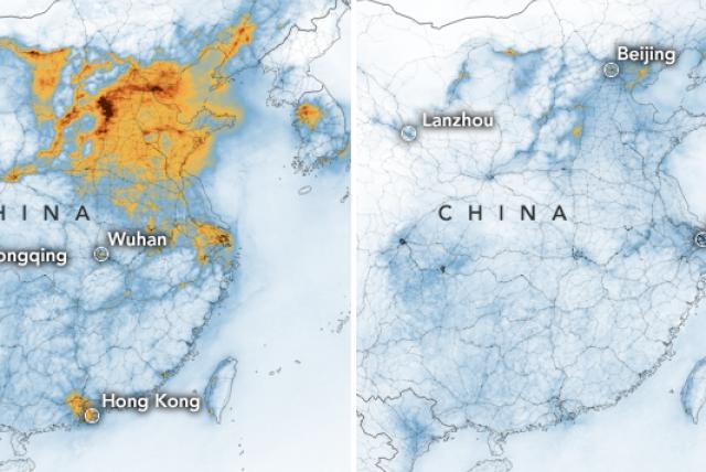 caida de contaminacion en china