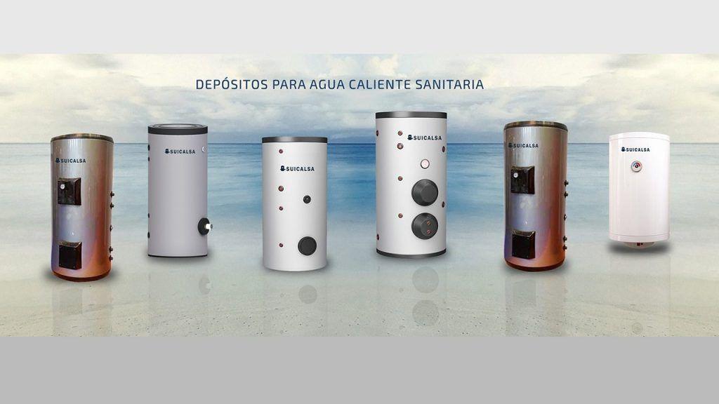 demanda del acumulador de agua caliente