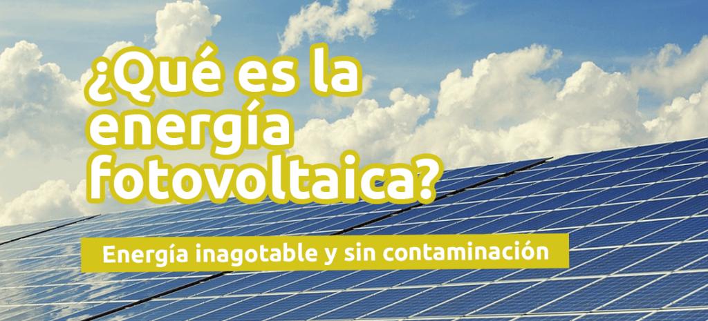 energia fotovoltaica que es