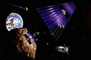Energia solar basada en el espacio