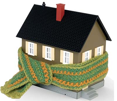 aislamiento de vivienda para calefaccion