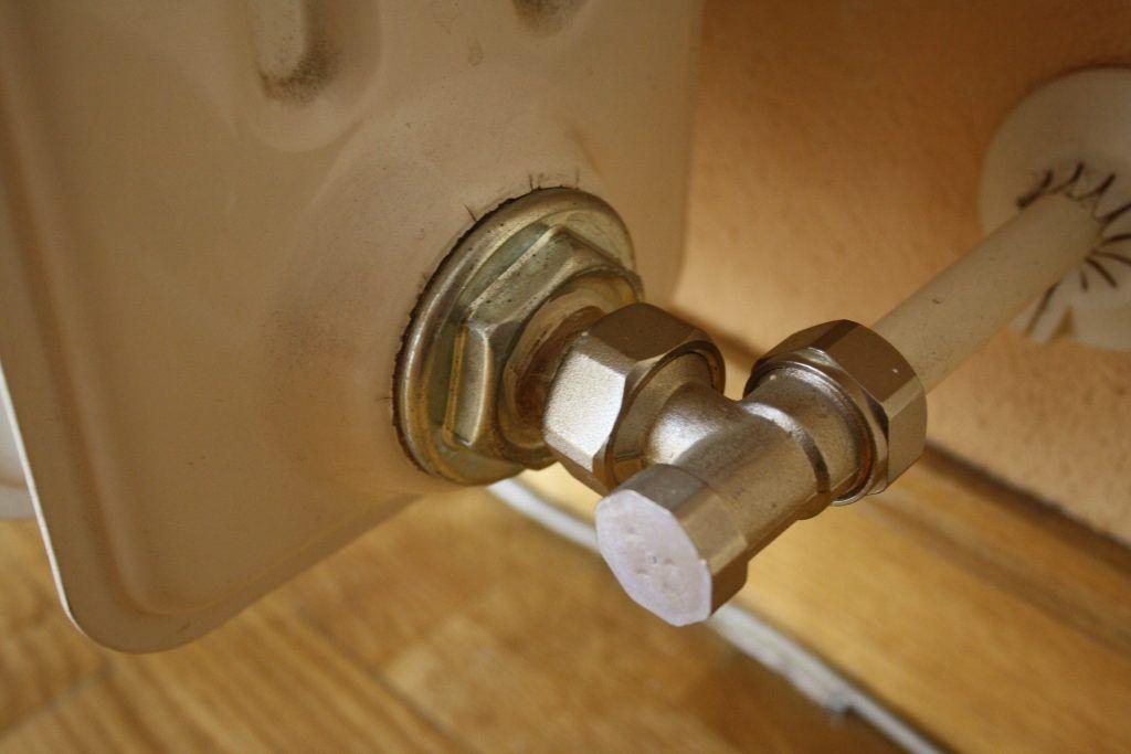 valvula de cierre del radiador