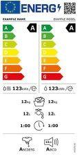 Etiqueta energetica Lavadoras-secadoras