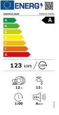 Etiqueta energética lavaplatos