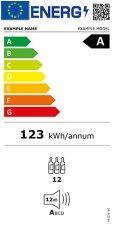 Etiqueta energetica refrigeradores de vino