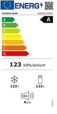 Etiqueta energética Refrigeradores y congeladores