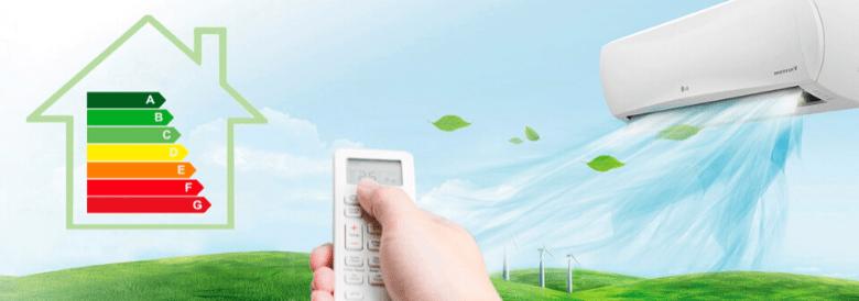 Aires acondicionados energéticamente eficientes