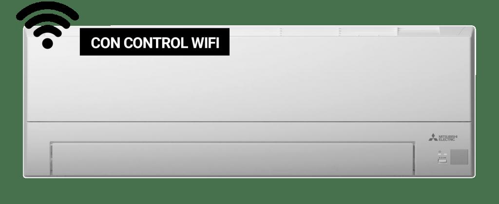 aireacondicionadoMitsubishiMSZ con Control Wifi