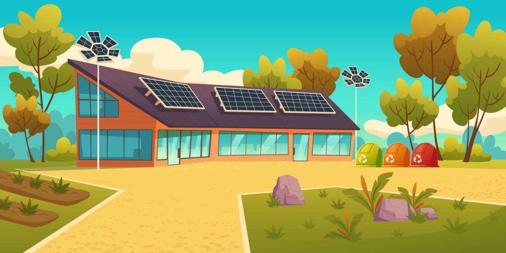 Pagan por la electricidad generada con los paneles solares