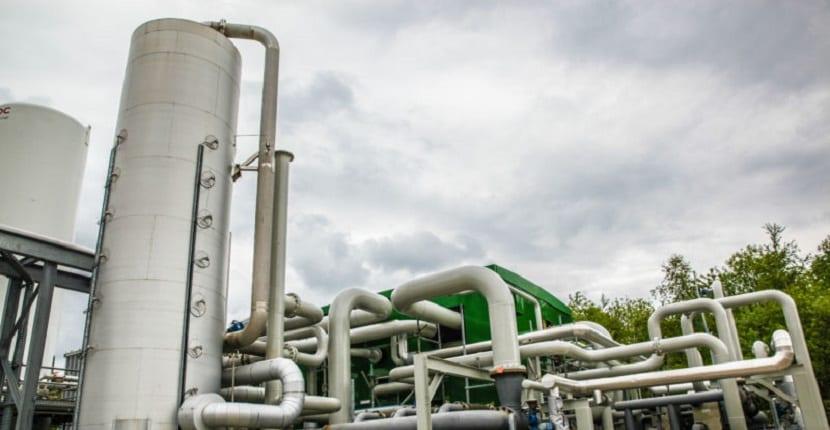 almacenamiento de energía de aire líquido
