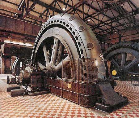 volante de inercia de energía rotacional